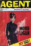 Cover for Agent Modesty Blaise (Semic, 1967 series) #1