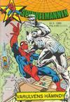Cover for Spindelmannen (Atlantic Förlags AB, 1978 series) #3/1980