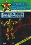 Cover for Spindelmannen (Atlantic Förlags AB, 1978 series) #10/1980