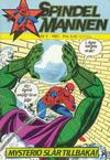Cover for Spindelmannen (Atlantic Förlags AB, 1978 series) #5/1981