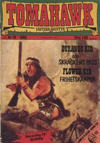 Cover Thumbnail for Tomahawk (Williams Förlags AB, 1969 series) #10/1969