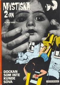 Cover Thumbnail for Mystiska 2:an: Dockan som inte kunde sova (Coeckelberghs, 1974 series) #[nn]