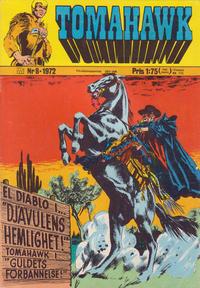 Cover Thumbnail for Tomahawk (Williams Förlags AB, 1969 series) #8/1972