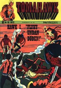 Cover Thumbnail for Tomahawk (Williams Förlags AB, 1969 series) #10/1972