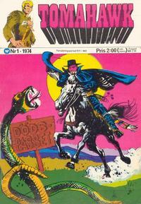 Cover Thumbnail for Tomahawk (Williams Förlags AB, 1969 series) #1/1974