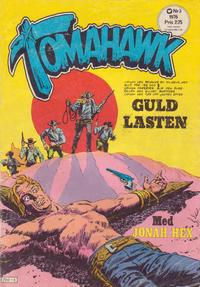 Cover Thumbnail for Tomahawk (Williams Förlags AB, 1969 series) #3/1976