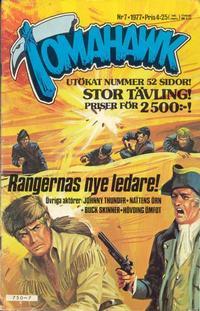 Cover Thumbnail for Tomahawk (Semic, 1976 series) #7/1977