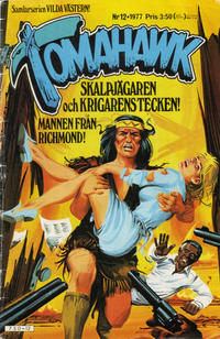 Cover Thumbnail for Tomahawk (Semic, 1976 series) #12/1977