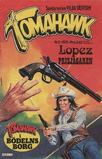 Cover Thumbnail for Tomahawk (Semic, 1976 series) #2/1978