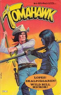 Cover Thumbnail for Tomahawk (Semic, 1976 series) #4/1978