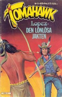 Cover Thumbnail for Tomahawk (Semic, 1976 series) #11/1978
