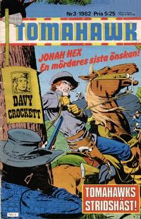 Cover Thumbnail for Tomahawk (Semic, 1982 series) #3/1982