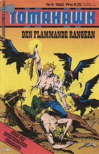 Cover Thumbnail for Tomahawk (Semic, 1982 series) #6/1982