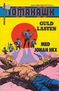Cover Thumbnail for Tomahawk (Semic, 1982 series) #11/1983