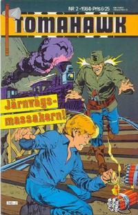 Cover Thumbnail for Tomahawk (Semic, 1982 series) #2/1984