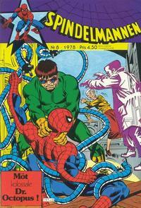 Cover Thumbnail for Spindelmannen (Atlantic Förlags AB, 1978 series) #8/1978