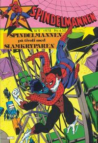 Cover Thumbnail for Spindelmannen (Atlantic Förlags AB, 1978 series) #9/1978