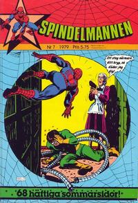 Cover Thumbnail for Spindelmannen (Atlantic Förlags AB, 1978 series) #7/1979
