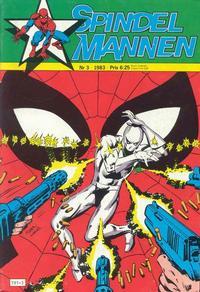 Cover Thumbnail for Spindelmannen (Atlantic Förlags AB, 1978 series) #3/1983