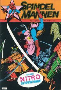 Cover Thumbnail for Spindelmannen (Atlantic Förlags AB, 1978 series) #4/1983