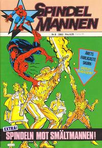 Cover Thumbnail for Spindelmannen (Atlantic Förlags AB, 1978 series) #8/1983
