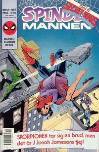 Cover Thumbnail for Spindelmannen (Semic, 1984 series) #12/1987