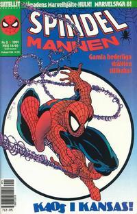 Cover Thumbnail for Spindelmannen (SatellitFörlaget, 1988 series) #5/1991