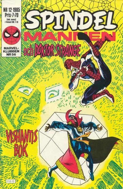 Cover for Spindelmannen (Semic, 1984 series) #12/1985