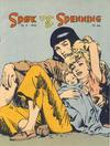 Cover for Spøk og Spenning (Oddvar Larsen; Odvar Lamer, 1950 series) #9/1952