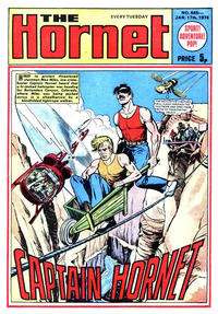 Cover Thumbnail for The Hornet (D.C. Thomson, 1963 series) #645