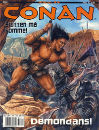 Cover Thumbnail for Conan album (Bladkompaniet, 1992 series) #44 - Demondans!