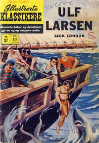 Cover Thumbnail for Illustrerte Klassikere [Classics Illustrated] (Illustrerte Klassikere / Williams Forlag, 1957 series) #37 - Ulf Larsen [1. opplag]