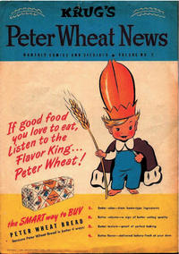 Cover Thumbnail for Peter Wheat News (Peter Wheat Bread and Bakers Associates, 1948 series) #2