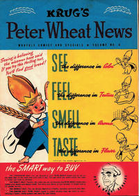 Cover Thumbnail for Peter Wheat News (Peter Wheat Bread and Bakers Associates, 1948 series) #4