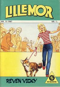 Cover Thumbnail for Lillemor (Serieforlaget / Se-Bladene / Stabenfeldt, 1969 series) #15/1987