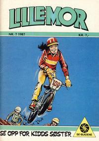Cover Thumbnail for Lillemor (Serieforlaget / Se-Bladene / Stabenfeldt, 1969 series) #7/1987