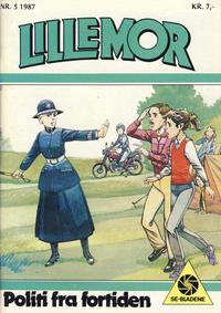 Cover Thumbnail for Lillemor (Serieforlaget / Se-Bladene / Stabenfeldt, 1969 series) #5/1987
