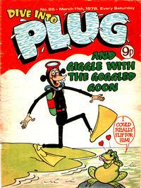 Cover Thumbnail for Plug (D.C. Thomson, 1977 series) #25