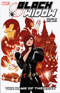 Cover Thumbnail for Black Widow: The Name of the Rose (Marvel, 2011 series)