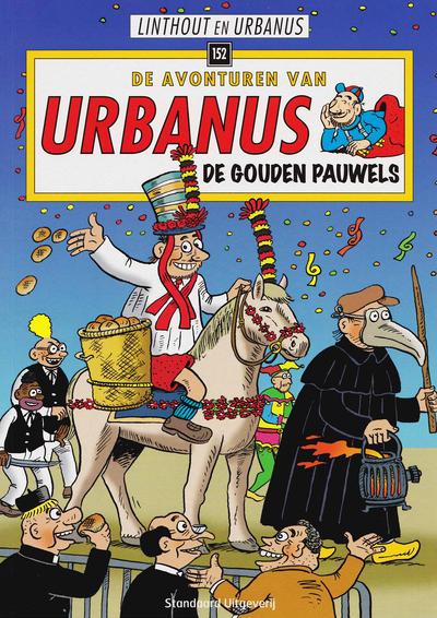 Cover for De avonturen van Urbanus (Standaard Uitgeverij, 1996 series) #152 - De gouden pauwels
