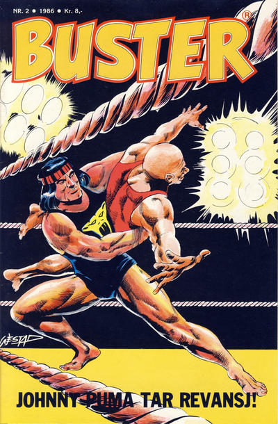 Cover for Buster (Semic, 1984 series) #2/1986