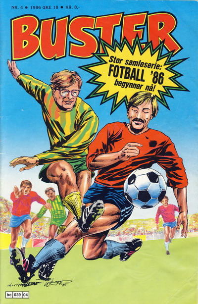 Cover for Buster (Semic, 1984 series) #4/1986