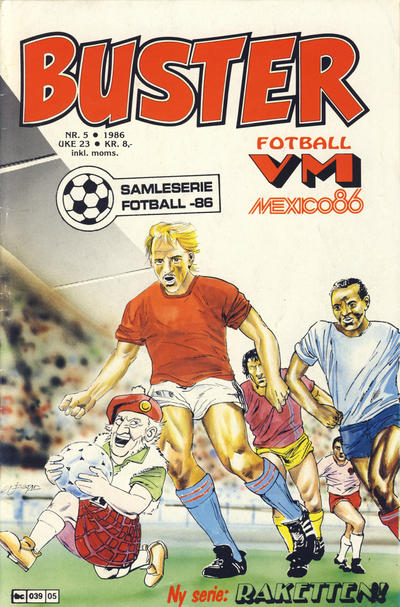 Cover for Buster (Semic, 1984 series) #5/1986