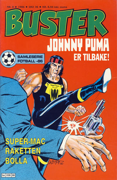 Cover for Buster (Semic, 1984 series) #8/1986