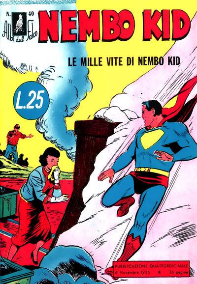 Cover for Albi del Falco (Arnoldo Mondadori Editore, 1954 series) #40