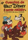 Cover for Cuentos de Walt Disney (Editorial Novaro, 1949 series) #35
