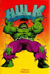 Cover for Hulk Annual (Marvel UK, 1981 ? series) #[1984]