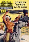 Cover for Illustrerte Klassikere [Classics Illustrated] (Illustrerte Klassikere / Williams Forlag, 1957 series) #36 - Jorden rundt på 80 dager [1. opplag]