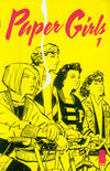 Cover for Paper Girls (Image, 2015 series) #1