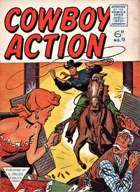 Cover Thumbnail for Cowboy Action (L. Miller & Son, 1956 series) #9